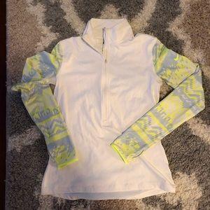 Nike Pro Dri Fit sweatshirt quarter zip pullover